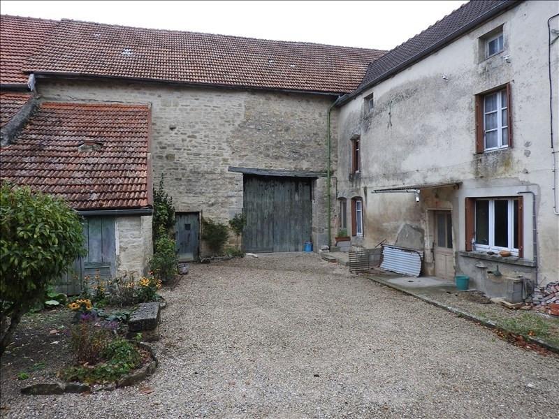Vente maison / villa Secteur montigny sur aube 36500€ - Photo 1