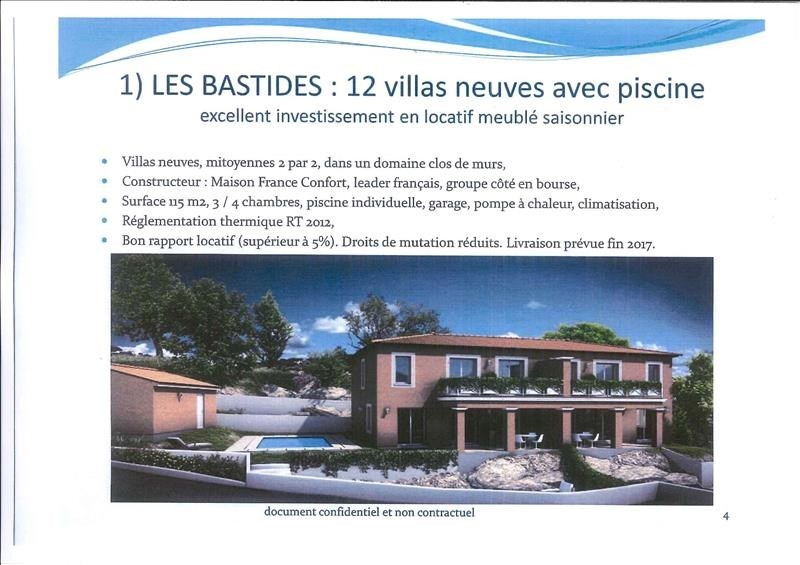 Sale house / villa Les issambres 490 000€ - Picture 1