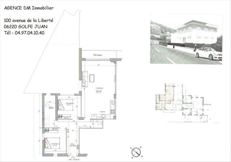 Investment property apartment Nice 399000€ - Picture 4