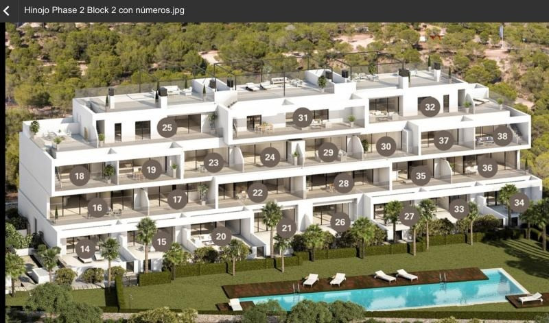 Deluxe sale apartment Las colinas golf orihuela 246 000€ - Picture 9