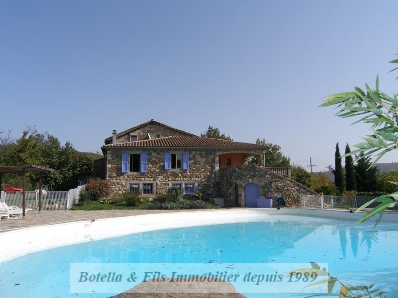 Deluxe sale house / villa Les vans 598000€ - Picture 1