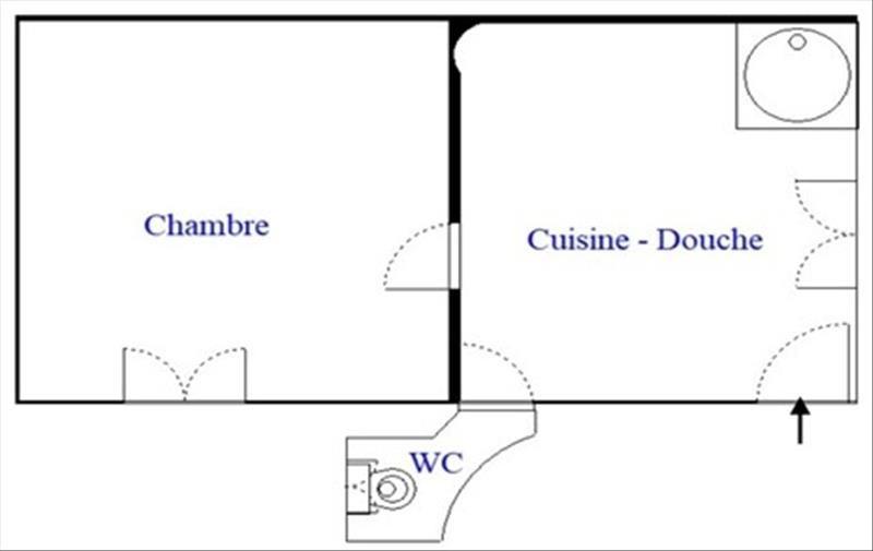 Venta  apartamento Paris 18ème 145000€ - Fotografía 5