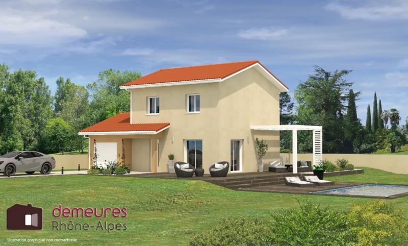 Projet de maison T4 Vaugneray 77,59m² sur terrain de 426m²