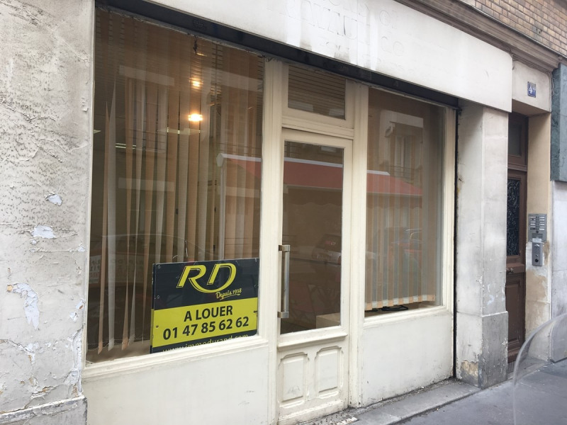 Location local commercial Asnieres sur seine 870€ CC - Photo 1