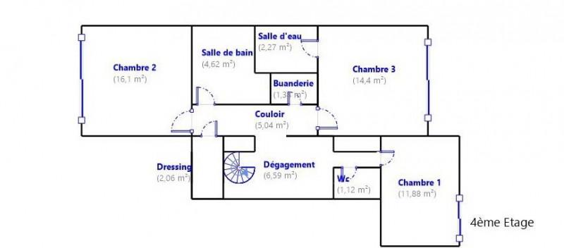 Vente appartement Limoges 349500€ - Photo 16