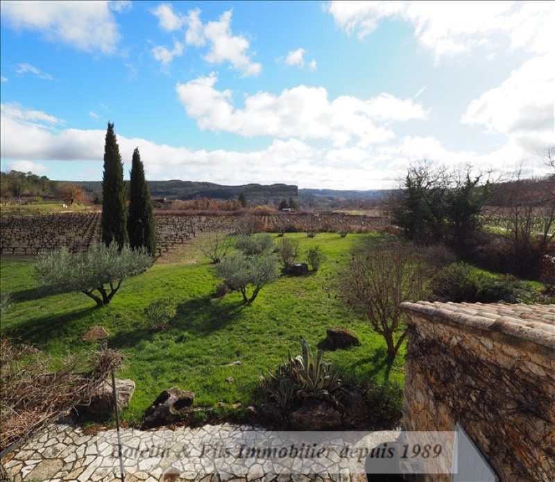 Immobile residenziali di prestigio casa Goudargues 526000€ - Fotografia 9