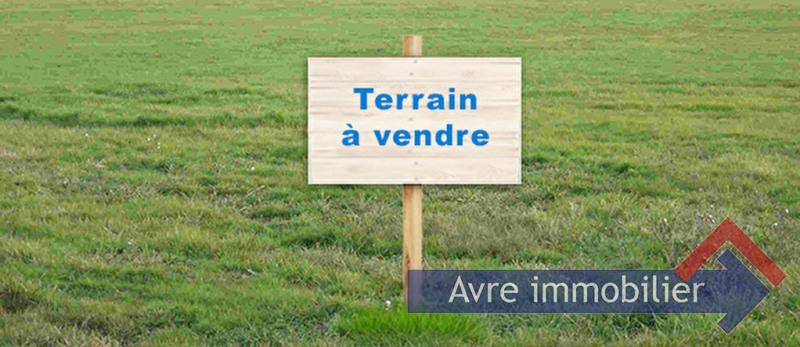 Vente terrain Verneuil d'avre et d'iton 39500€ - Photo 1