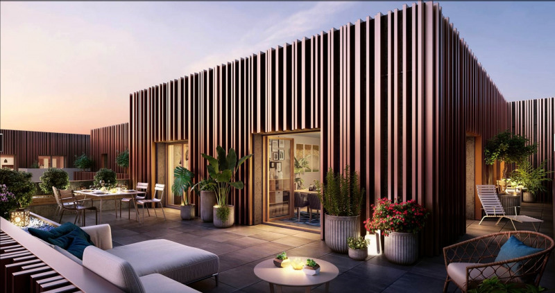 Vente de prestige appartement Issy-les-moulineaux 1089000€ - Photo 2