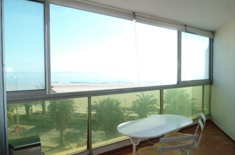 Sale apartment Canet plage 185000€ - Picture 2