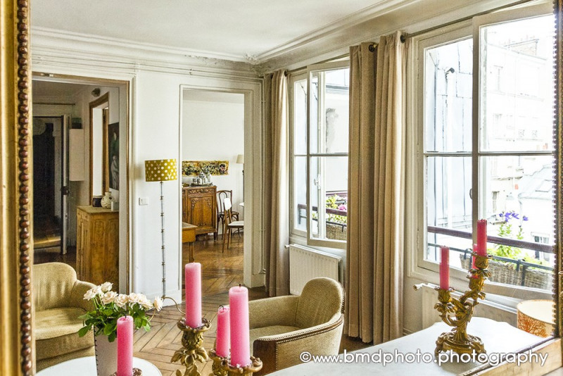 Deluxe sale apartment Paris 9ème 890 000€ - Picture 1