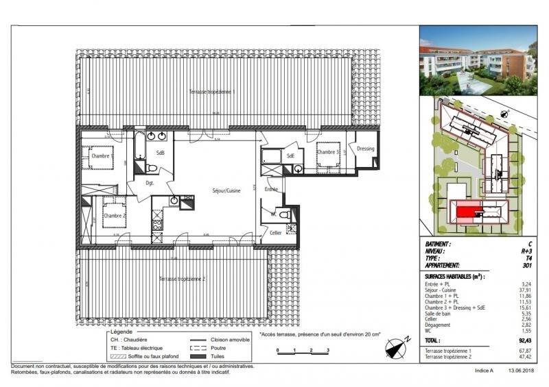 Vente appartement Toulouse 339000€ - Photo 2