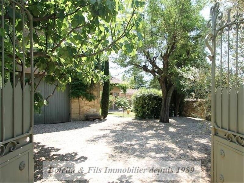 Deluxe sale house / villa Uzes 849 000€ - Picture 1