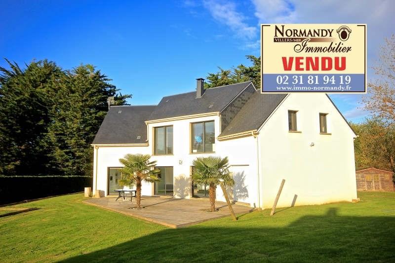 Vente maison / villa Villers sur mer 525000€ - Photo 1