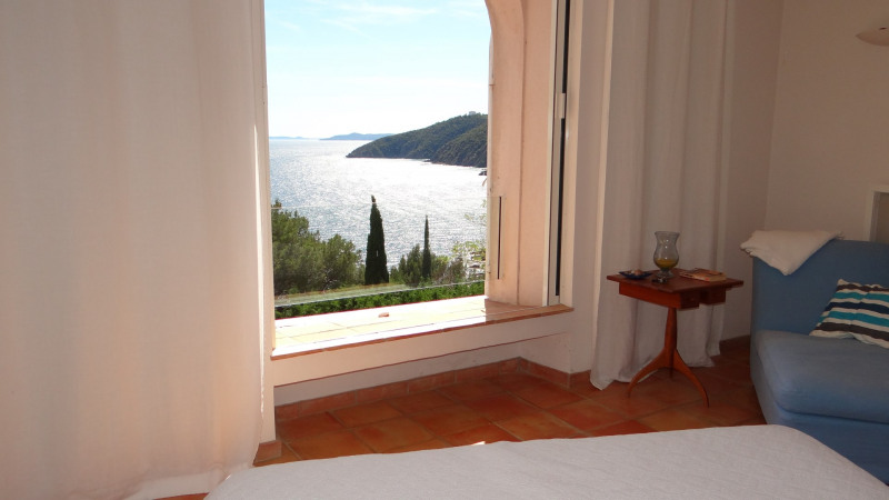 Vacation rental house / villa Cavalaire sur mer 3 500€ - Picture 34