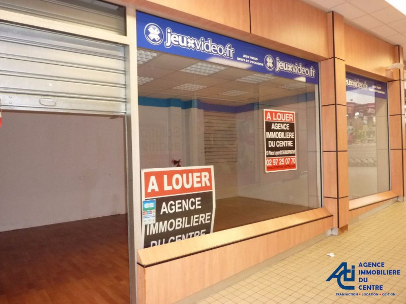 Location local commercial Pontivy 550€ HC - Photo 1