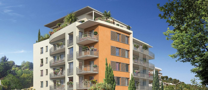 New home sale program Cagnes sur mer  - Picture 1