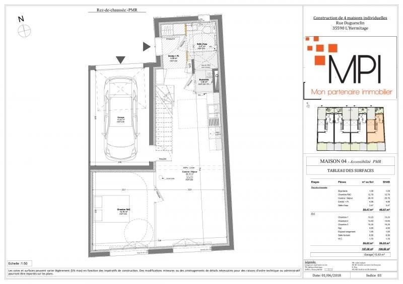 Sale house / villa L hermitage 290940€ - Picture 4