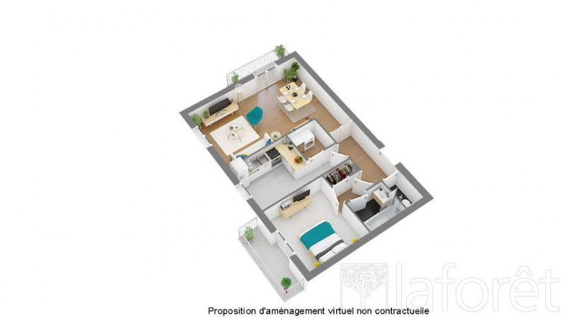 Vente appartement Bron 130 000€ - Photo 6
