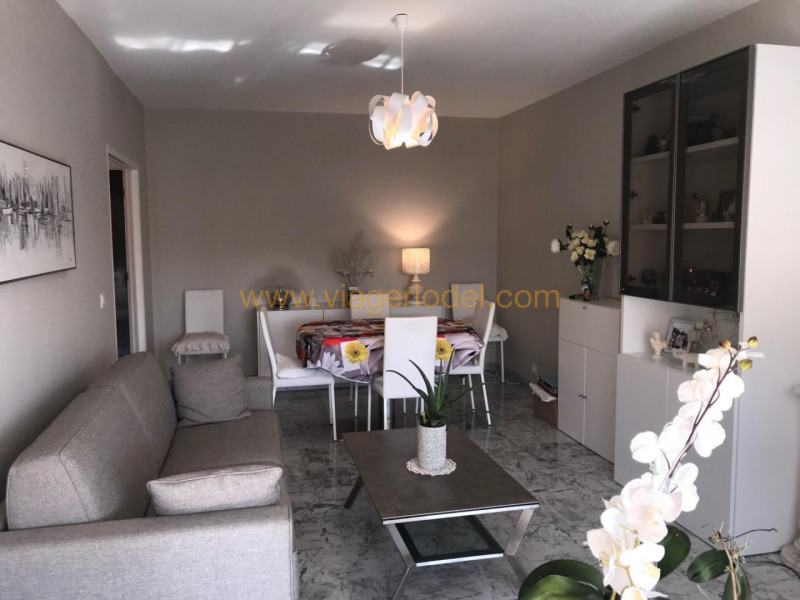 Viager appartement Nice 65000€ - Photo 1