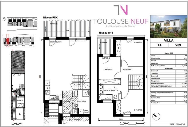 Vente maison / villa Villeneuve tolosane 241500€ - Photo 10