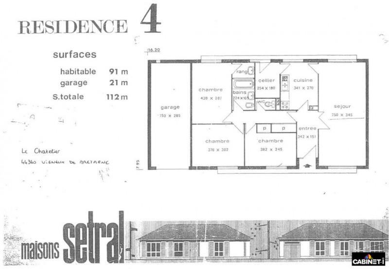 Vente maison / villa Vigneux de bretagne 193900€ - Photo 9
