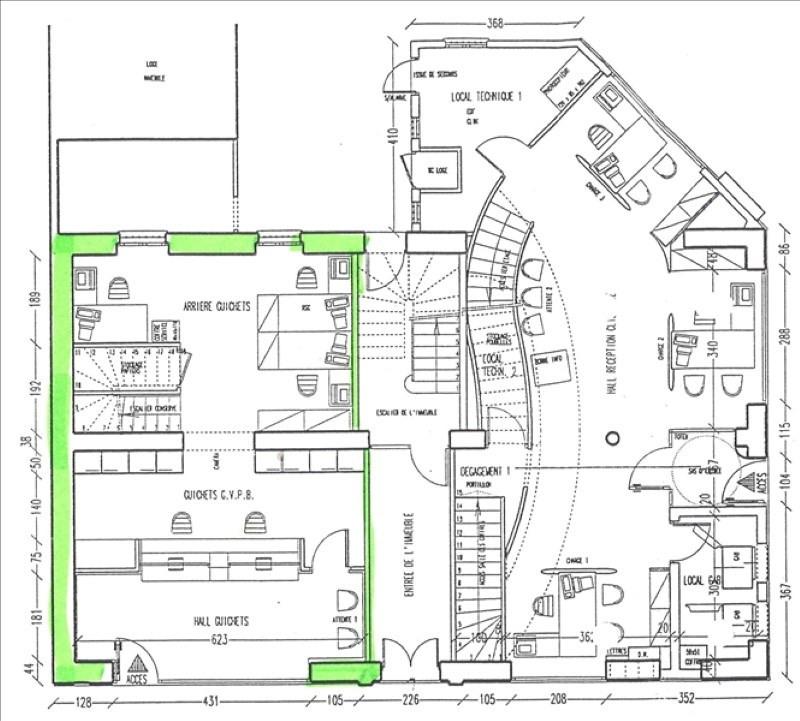 Sale empty room/storage Courbevoie 252000€ - Picture 1