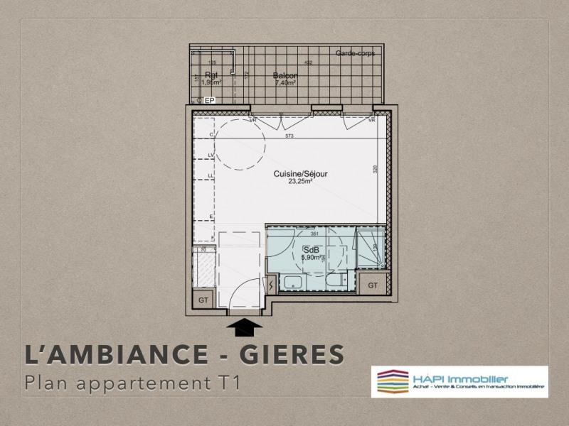 Sale apartment Grenoble 121000€ - Picture 2