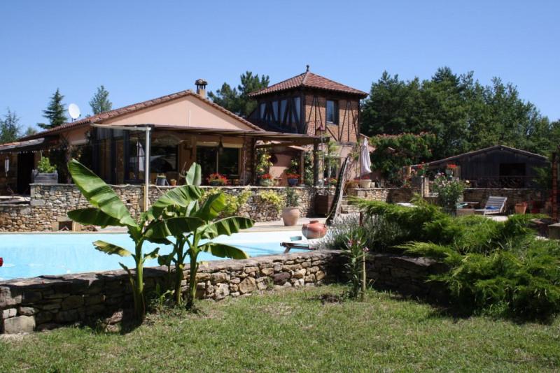 Sale house / villa Campagne 409500€ - Picture 1