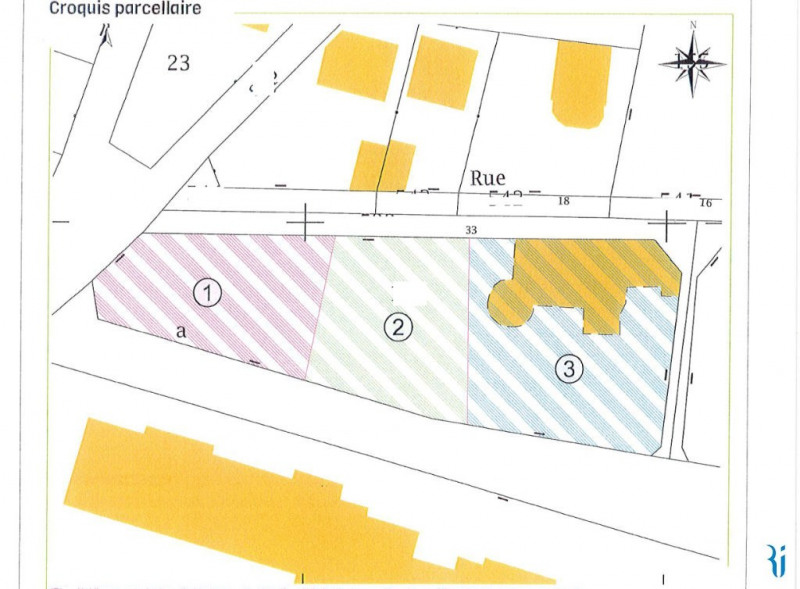 Venta  terreno Mont saint aignan 230000€ - Fotografía 1