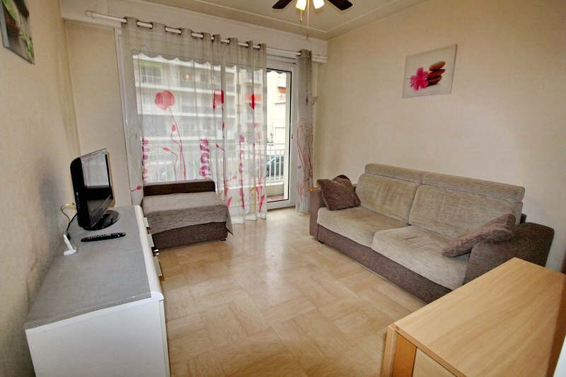 Rental apartment Nice 668€ CC - Picture 1
