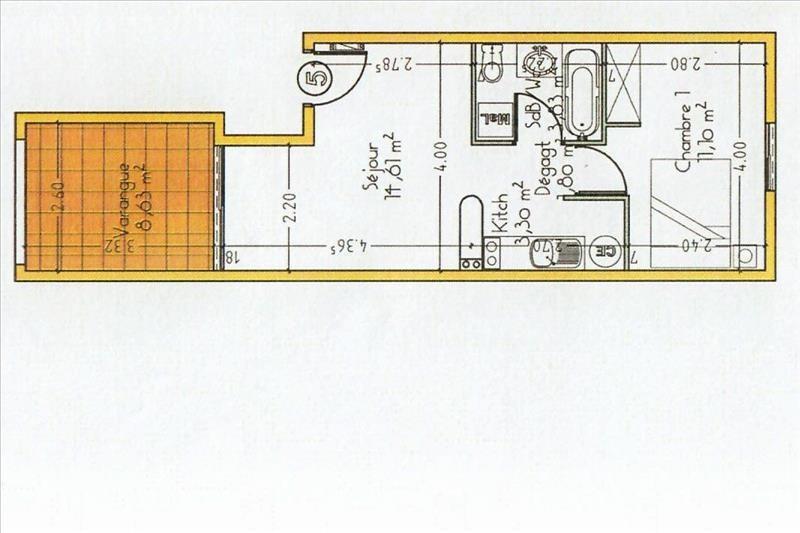 Sale apartment La montagne 108000€ - Picture 7