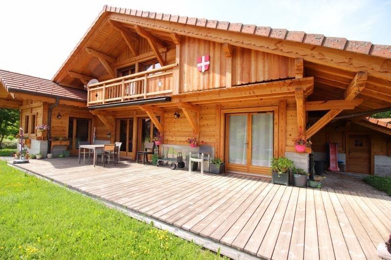 Deluxe sale house / villa Mont saxonnex 565000€ - Picture 2