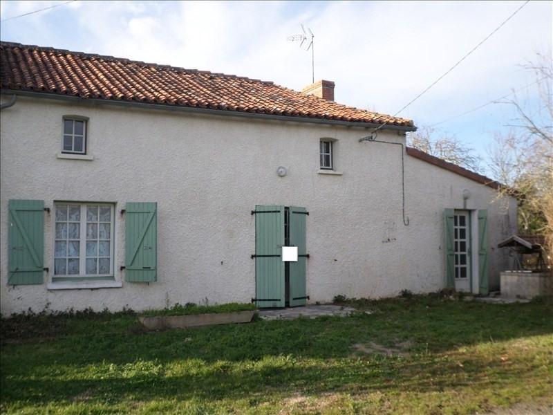 Vente maison / villa Moulismes 59000€ - Photo 1
