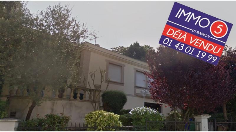 Sale house / villa Le raincy 720000€ - Picture 1