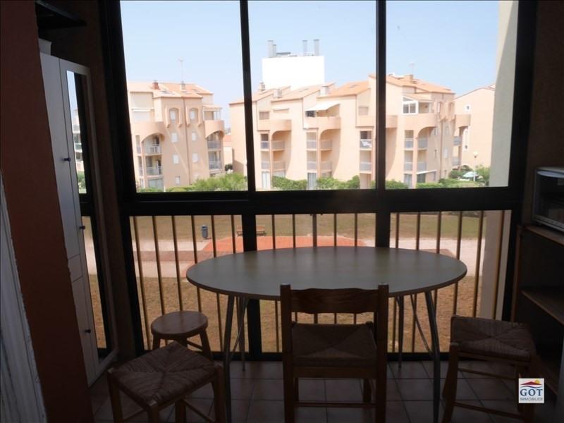 Revenda apartamento Le barcares 70500€ - Fotografia 4