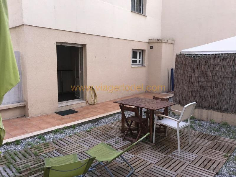 Viager appartement Nice 92 500€ - Photo 1