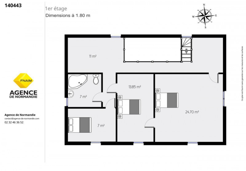 Vente maison / villa Le sap 135000€ - Photo 9