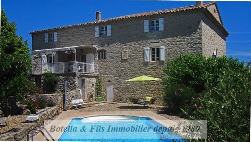 Deluxe sale house / villa Les vans 899000€ - Picture 1