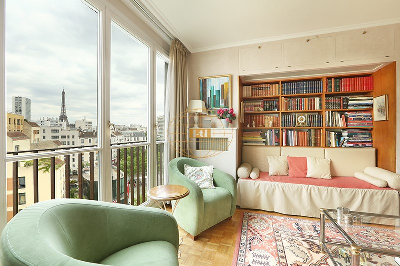 Vente de prestige appartement Paris 15ème 1 285 000€ - Photo 2
