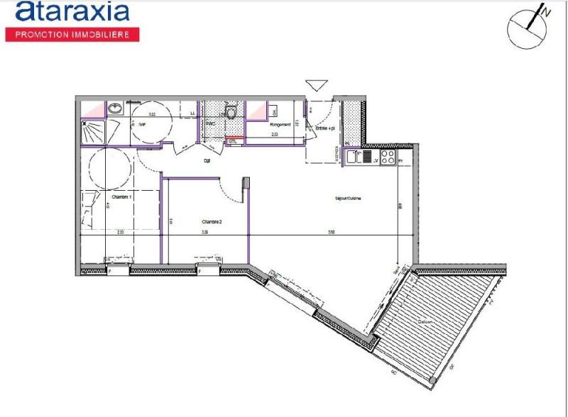 Rental apartment Reze 750€ CC - Picture 2