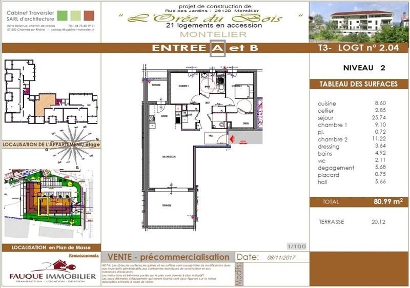 Vente de prestige appartement Montelier 250000€ - Photo 9