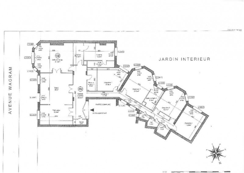Verkoop van prestige  appartement Paris 17ème 2270000€ - Foto 11
