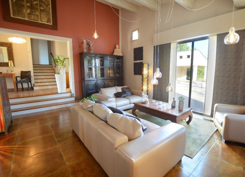Venta de prestigio  casa Morieres les avignon 655000€ - Fotografía 2