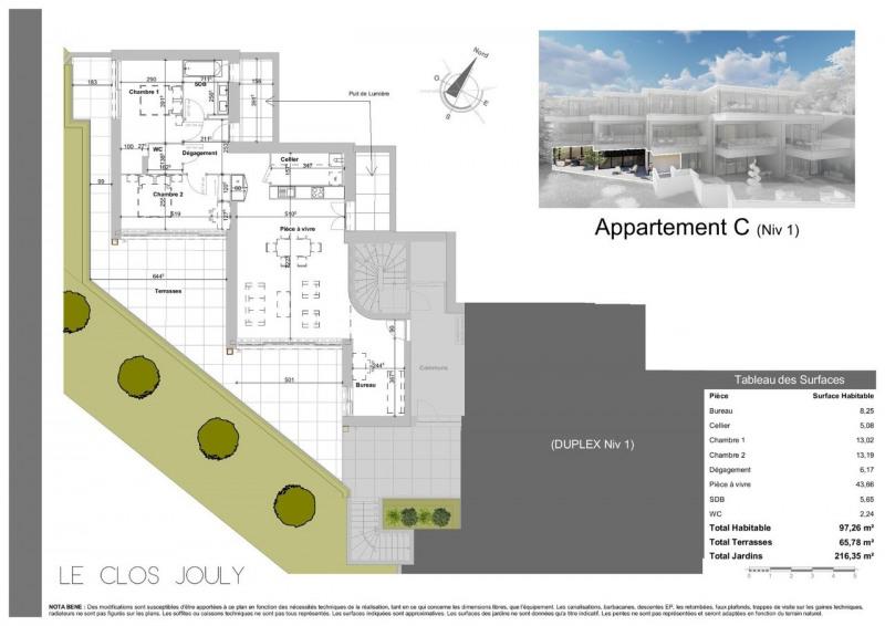 Venta de prestigio  apartamento Annecy-le-vieux 890000€ - Fotografía 3
