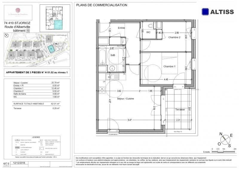Vente appartement St jorioz 267000€ - Photo 2