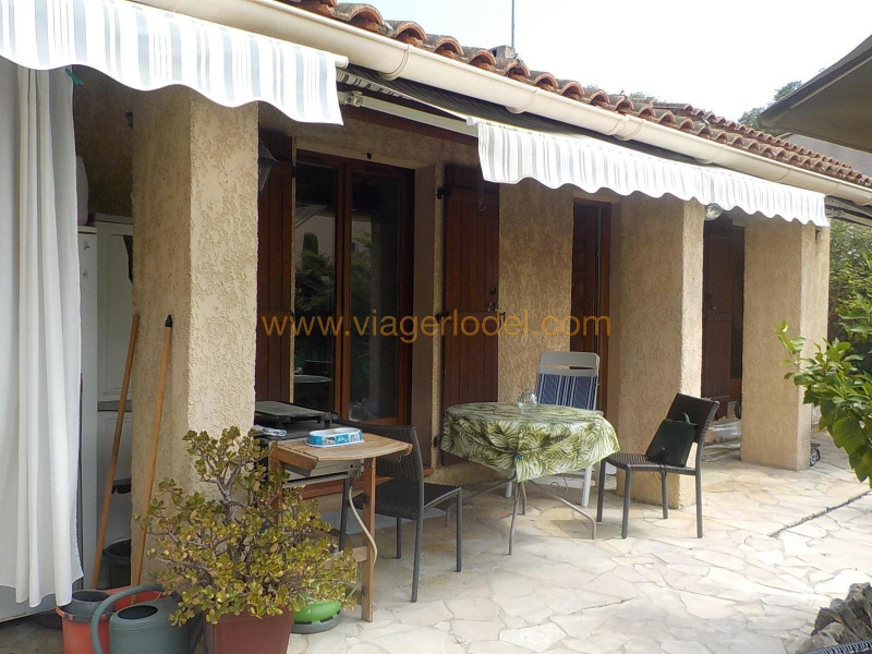 Life annuity house / villa Antibes 290000€ - Picture 1