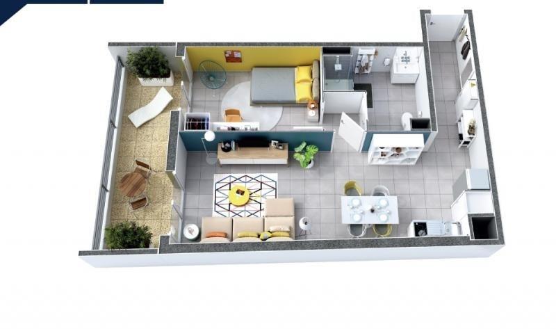 Vente appartement Nîmes 163000€ - Photo 2