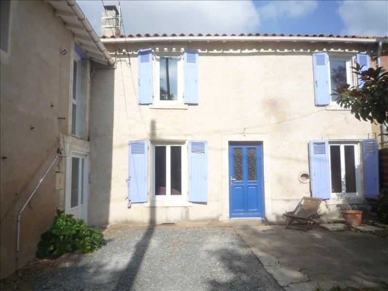 Vente maison / villa St martin de st maixent 106000€ - Photo 1