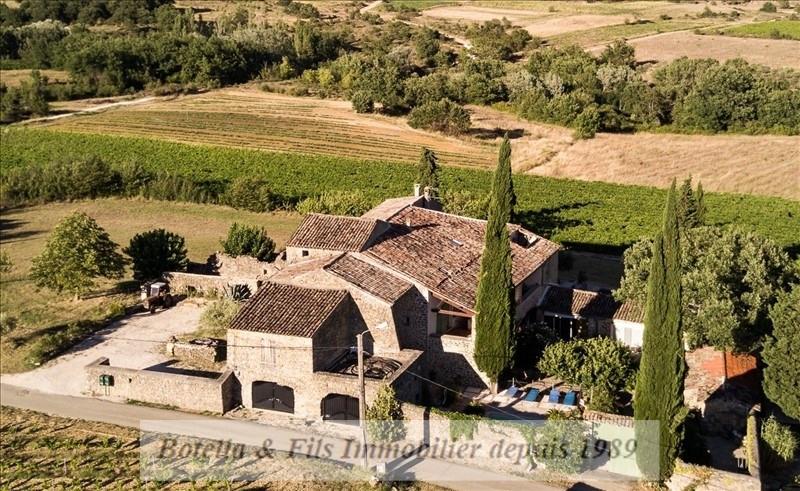 Verkoop van prestige  huis Barjac 915000€ - Foto 1
