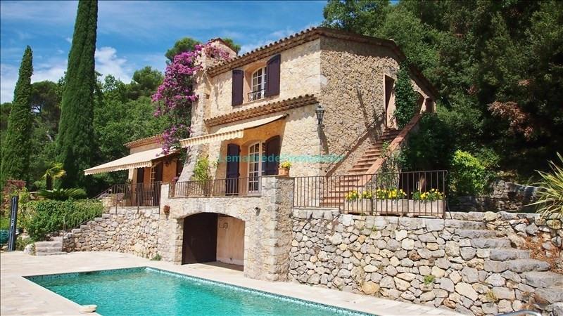 Vente de prestige maison / villa Le tignet 895000€ - Photo 1